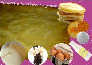 Recette Blinis dessert à la crème aux oeufs, vanille - blintzes souflés (cuisine juive)