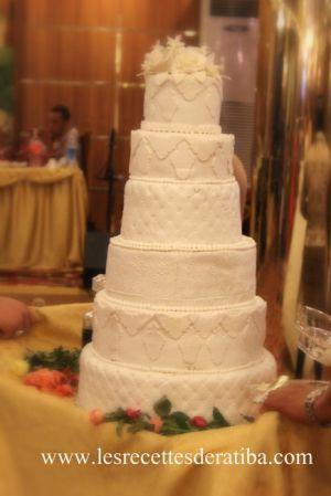 Recette Gateau en pâte a sucre, wedding cake , Gâteau d'anniversaire , Gâteau 3D