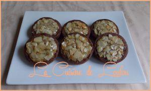 Recette Mini tartelettes au cacao et aux amandes