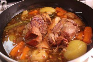 Recette Jarret de veau aux légumes (Cookeo)
