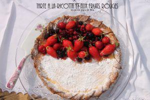 Recette Tarte à la ricotta et aux fruits rouges - Italie les Pouilles (3) les trulli