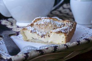 Recette Tarte aux poires et mascarpone