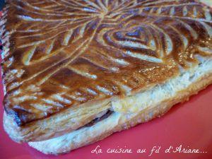 Recette Galette à la pâte à tartiner - pâte feuilletée rapide maison