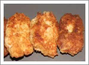 Recette Nuggets de poulet a la vache qui rit thermomix ou non