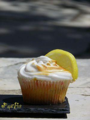 Recette Cupcake façon tarte au citron meringuée