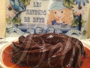 Recette Pudding au Chocolat / Pudim de Chocolate