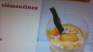 Recette Soupe de clementines