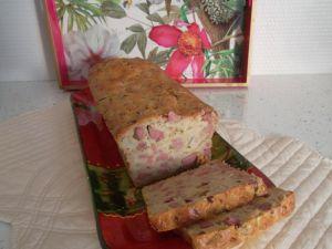 Recette Cake oignon-foie de volaille