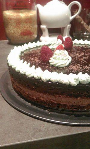 Recette Entremet chocolat-pistache