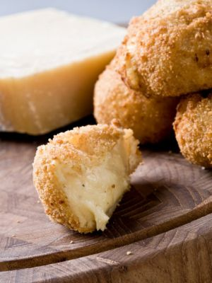 Recette Croquettes au parmesan