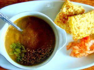 Recette Soupe aux légumes racines et feuilles