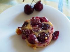 Recette Clafoutis cerises et fève de tonka