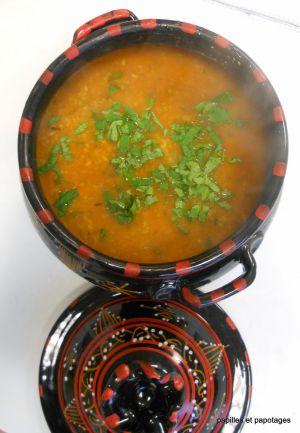 Recette Atelier de Janvier: soupe, soupe, soupe 2: La Chorba Kabyle