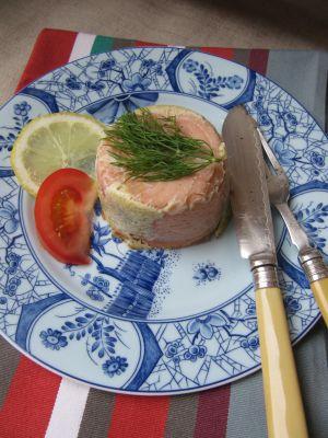 Recette Timbales de saumon d'Hélène