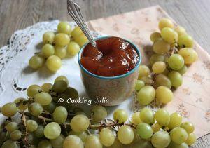 Recette Confiture de raisin blanc zéro déchet