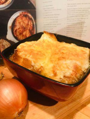 Recette Soupe à l'oignon au rôti de palette