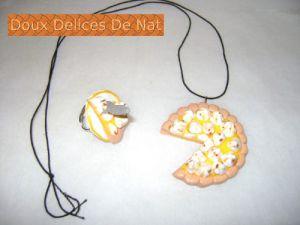 Recette Parure tarte aux citrons meringuée :