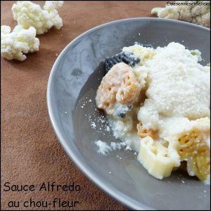 Recette Sauce Alfredo au chou-fleur pour pâtes