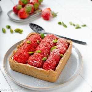 Recette Croûte aux fraises