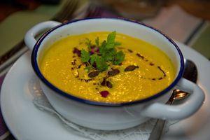 Recette Soupe à la citrouille et à la carotte