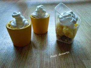 Recette Verrines façon tarte au citron meringuée