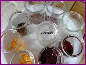 Recette Meli-melo de yaourts maison