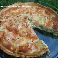 Recette Quiche saumon-poireau