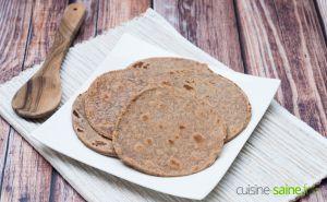 Recette Tortillas au maïs sans gluten