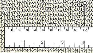 Recette Doigts habiles : l'échantillon, un point de fantaisie et de côtes, le jacquard