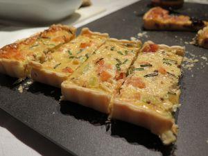 Recette Quiche saumon, poireaux & tofu