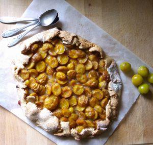 Recette Tarte rustique aux mirabelles et fève tonka