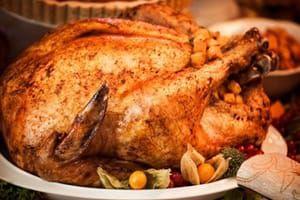 Recette Dinde farcie aux marrons : repas de Noël classique…
