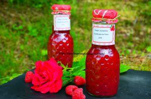 Recette Vinaigre aromatisé à la framboise