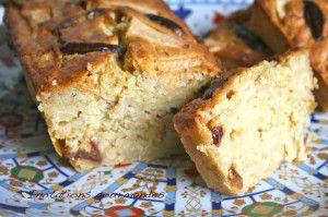 Recette Cake aux coings et aux dattes