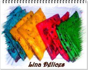 Recette Crêpes en couleurs