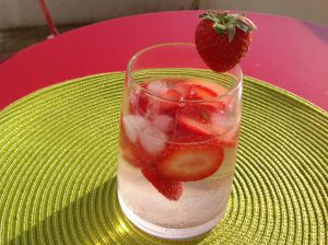 Recette Caïpirinha fraise