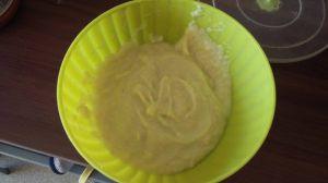 Recette Purée de courgette et de pomme de terre jambon