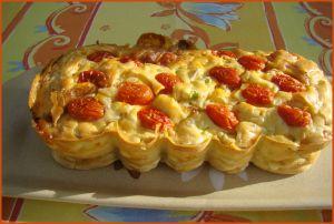 Recette Cake courgette/surimi