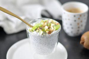 Recette Chia pudding – coco & kiwi