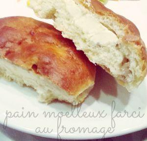 Recette Pain farci au fromage / ou pain Burger