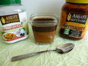 Recette Yaourts diététiques maison au Germacoré avec psyllium et Nutristévia (sans sucre)