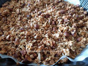 Recette Granola aux fruits secs