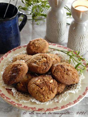 Recette Cookies chocolat et orange confite