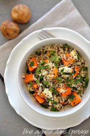 Recette Salade de riz et quinoa au citron noir d'Iran, d'Ottolenghi