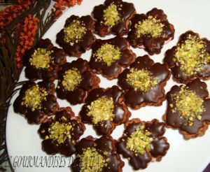 Recette Sables au chocolat