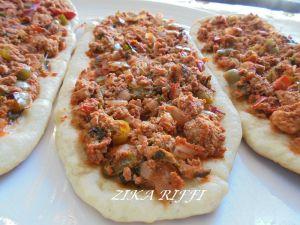 Recette Lahmacun - pizza turque / cuisine turque