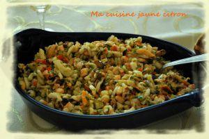 Recette Salade de fruits de mer
