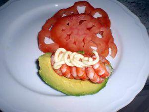 Recette Avocat et crevette