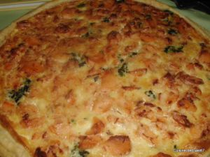 Recette Quiche saumon épinards