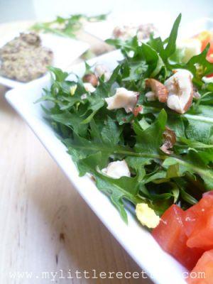 Recette Salade printanière de pissenlits